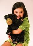 plyšové Mládě medvěda černého