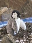 plyšové Mládě tučňák, plyšová hračka