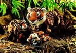 plyšové Mládě tygra