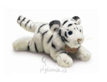 plyšové Mládě tygra bílého