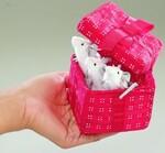 plyšové Myšky v krabičce, plyšová hračka