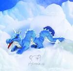 plyšový Arktický drak