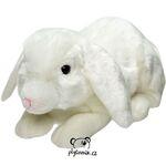 plyšový Bílý králík Suki, plyšová hračka