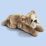 plyšový Buldog velký, plyšová hračka