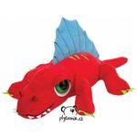 plyšový Červený Dimetrodon