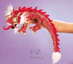 plyšový Čínský drak, plyšová hračka