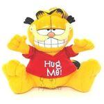 plyšový Garfield v červeném triku, plyšová hračka
