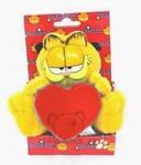 plyšový Garfield v krabičce s červeným srdcem, plyšová hračka