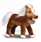 plyšový Hnědý kůň Palomino