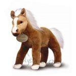 plyšový Hnědý kůň Palomino velký