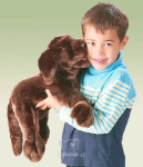 plyšový Hnědý labrador