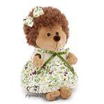 plyšový Ježek Fluffy - květované šaty, plyšová hračka