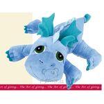 plyšový JUMBO drak Scorch, plyšová hračka