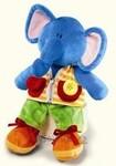 plyšový Knoflíkový slon