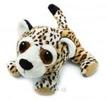 plyšový Leopard Leonard menší, plyšová hračka