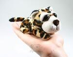 plyšový Leopard Spot menší, plyšová hračka
