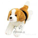 plyšový Ležící beagle Yomiko