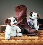 plyšový Malý beagle