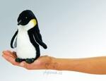 plyšový Maňásek na prst tučňák 1+1 ZDARMA, plyšová hračka