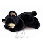 plyšový Medvěd černý velký, plyšová hračka