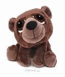 plyšový Medvěd Claudie menší, plyšová hračka