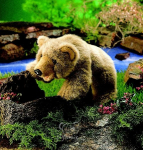 plyšový Medvěd Grizzly, plyšová hračka