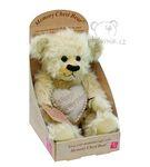 plyšový Medvěd Julie, plyšová hračka