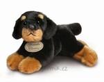 plyšový Menší rottweiler, plyšová hračka