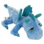 plyšový Modrý drak Firestorm, plyšová hračka