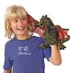 plyšový Okřídlený drak, plyšová hračka