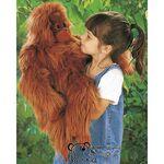 plyšový Oranguntan, plyšová hračka