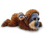 plyšový Orangutan Gordon s miminkem, plyšová hračka