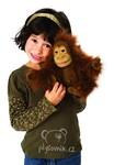 plyšový Orangutan menší, plyšová hračka