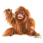 plyšový Orangutan mládě, plyšová hračka
