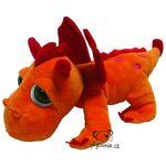 plyšový Oranžový drak Blaze, plyšová hračka