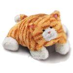 plyšový Polštář kočka Tabby, plyšová hračka