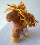 plyšový Poník Patch Pony menší hnědý, plyšová hračka