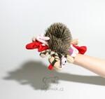 plyšový Přejetý ježek - EMO, plyšová hračka