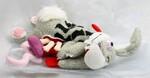 plyšový Přejetý zajíc - EMO, plyšová hračka