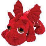 plyšový Rudý drak Ember, plyšová hračka
