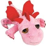 plyšový Růžový drak Smoulder, plyšová hračka