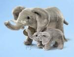 plyšový Slon s mládětem