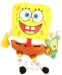 plyšový SpongeBob v kalhotách