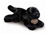 plyšový Štěně černý labrador, plyšová hračka