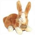 plyšový Světle hnědý zajíc, plyšová hračka