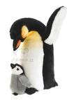 plyšový Tučňák s mládětem, plyšová hračka