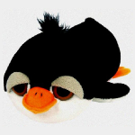 plyšový Tučňák Tuxedo, plyšová hračka