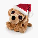 plyšový Vánoční labrador Barney