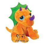 plyšový Velký dinosaurus triceratops