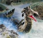 plyšový Velký mořský had, plyšová hračka